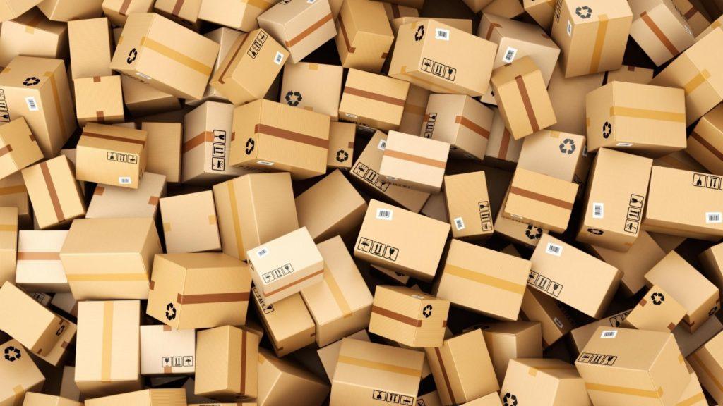 emballage colis cartons