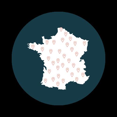 Des offres disponibles partout en France