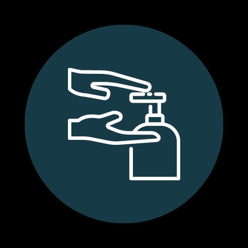 Stockage logistique gel hydroalcoolique COVID produits d'hygiène et de santé